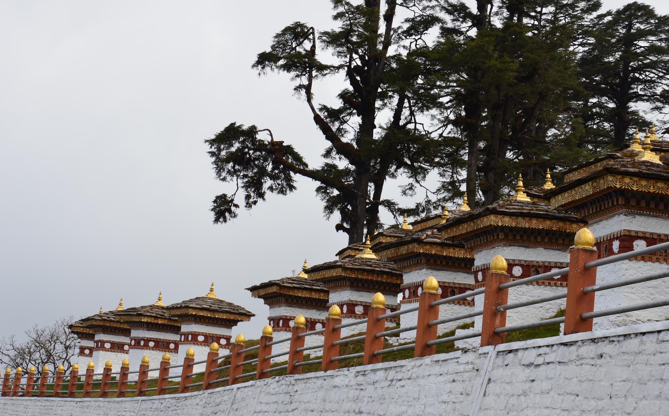 F12 Shangri-La Dochula Stupas Image