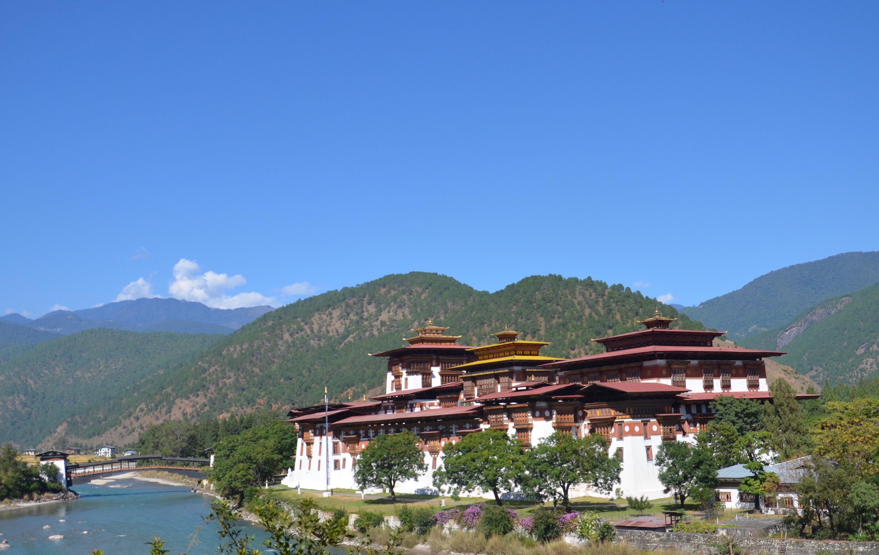 F14 Spectacular Punakha Dzong Image